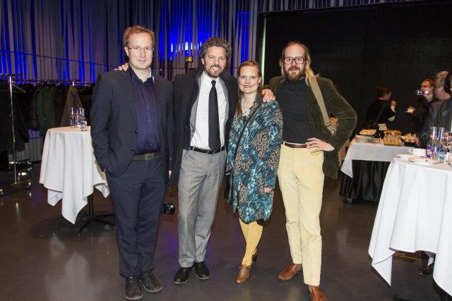 Andri Snær Magnason, Dagur B. Eggertsson, Margrét Sjöfn og Óttar …