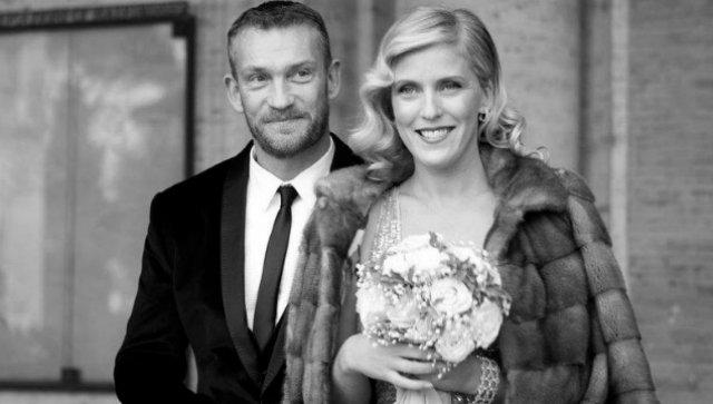 Björgólfur Thor Björgólfsson og Kristín Ólafsdóttir