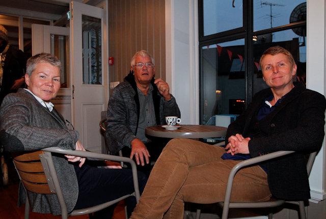 Bára Kristinsdóttir, Einar Kristinsson og Arndís Sigurgeirsdóttir.