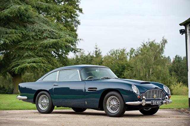 Aston Martin DB5 sem bítillinnPaul McCartney átti.