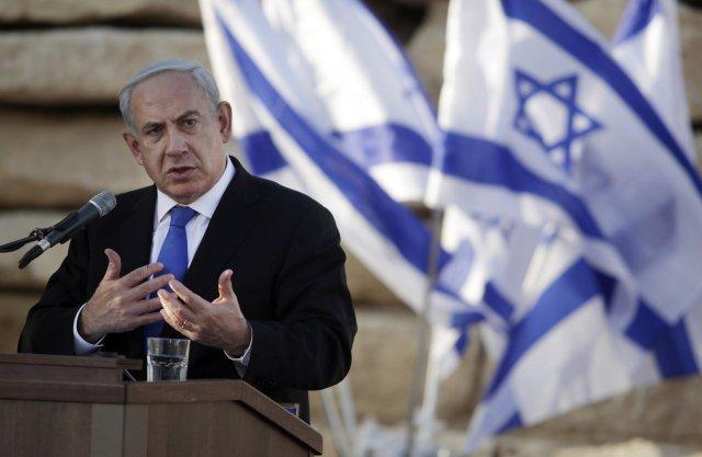 Benjamín Netanjahú, forsætisráðherra Ísraels.