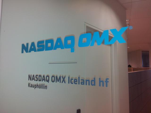 Iceland's stock exchange.