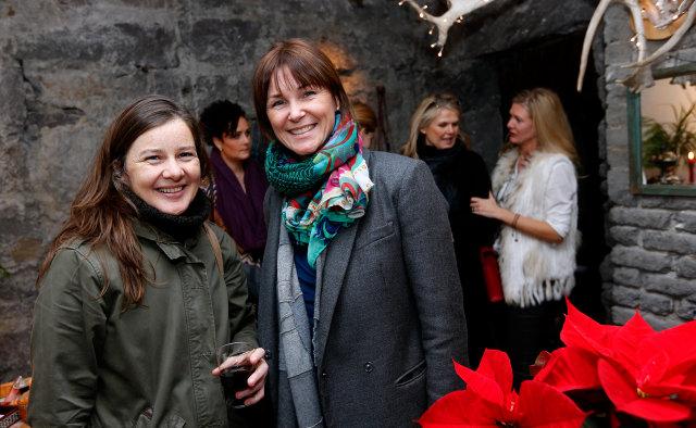Anna Kristín Ásbjörnsdóttir og Elín Helga Sæbjörnsdóttir.