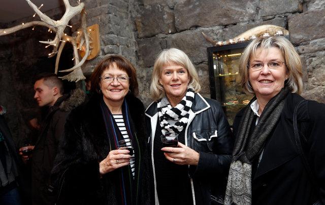 Erna Hauksdóttir, Hólmfríður Gísladóttir og Áslaug Hafstein.