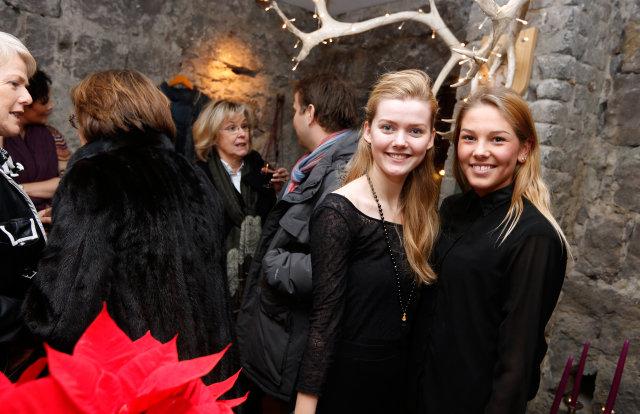 Kristín Sigurðardóttir og Guðbjörg Loftsdóttir.