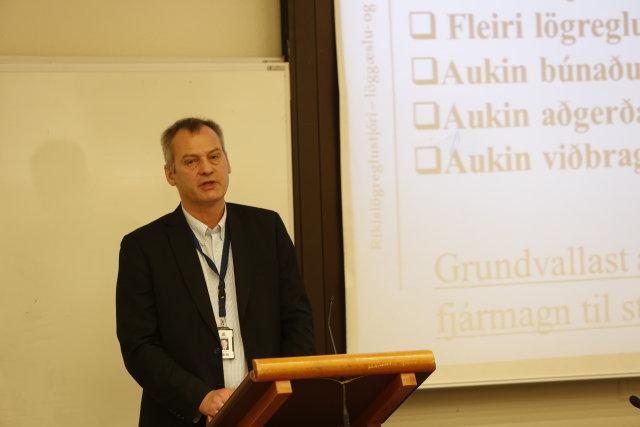 Jón F. Bjartmarz, yfirlögregluþjónn hjá embætti ríkislögreglustjóra.