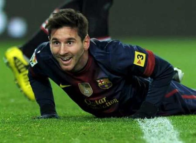 Lionel Messi hefur staðið í skugga Lewandowskis seinustu tvö árin.