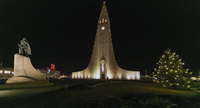 Reykjavik's Hallgrímskirkja church.