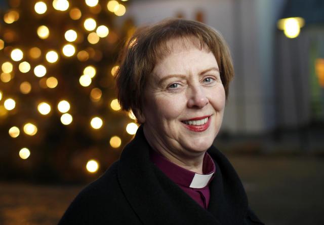 Agnes M. Sigurðardóttir biskup.