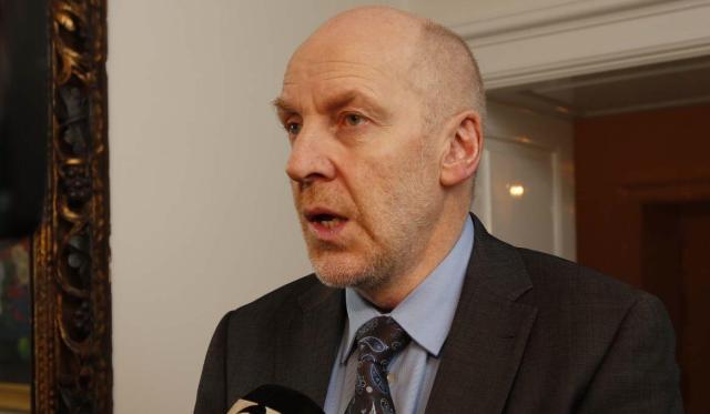 Steingrímur J. Sigfússon, atvinnuvega- og nýsköpunarráðherra.