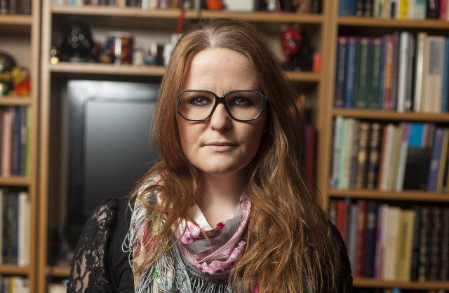 Þessi mynd var tekin af Ölmu árið 2013.
