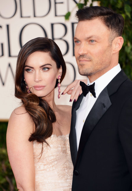 Megan Fox og Brian Austin Green.