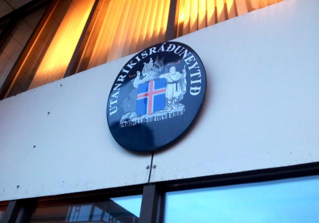 Iceland's Ministry of Foreign Affairs.