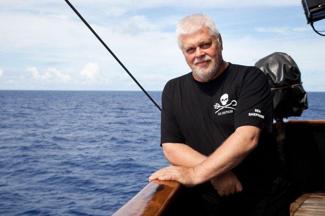 Paul Watson, stofnandi Sea Shepherd.