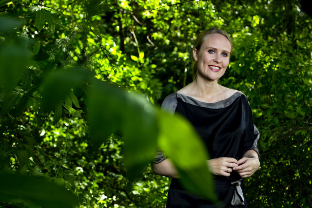 Þóra Arnórsdóttir ætlar að bjóða sig fram til forseta.