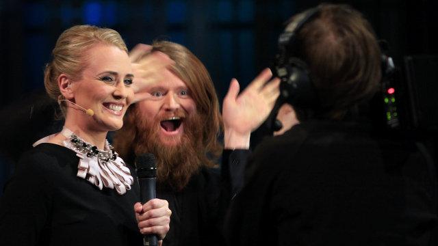 Brynja Þorgeirsdóttir og Pétur Örn Guðmundsson.