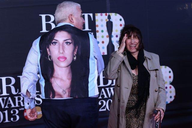 Mitch og Janis, foreldrar Amy Winehouse.