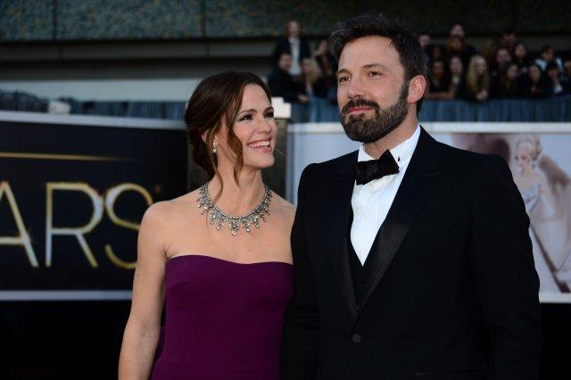 Jennifer Garner og Ben Affleck.