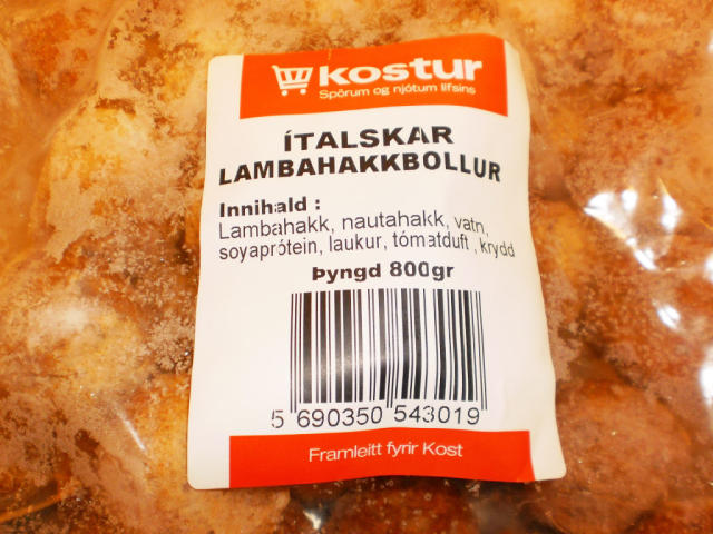 Ekkert nautakjöt reyndist vera í ítölsku kjötbollunum frá Gæðakokkum í ...