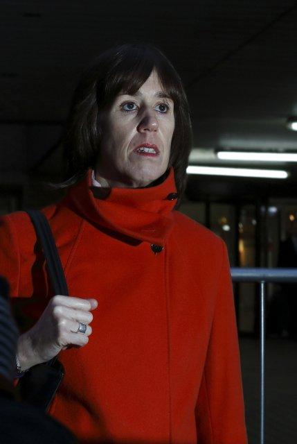 Carina Trimingham er núverandi sambýliskona Chris Huhne.