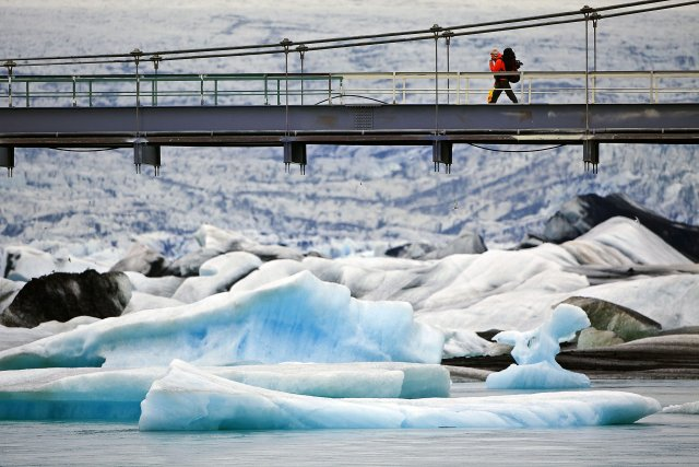 Iceland is an increasingly popular destination for tourists.