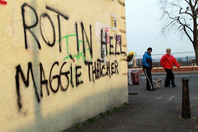 Skiptar skoðanir voru um Thatcher í stjórnartíð hennar og einnig ...