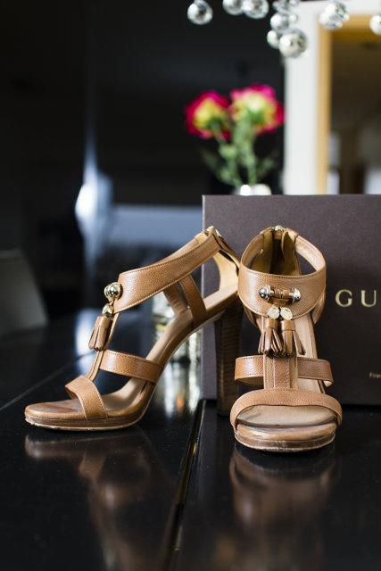 Skór frá Gucci.
