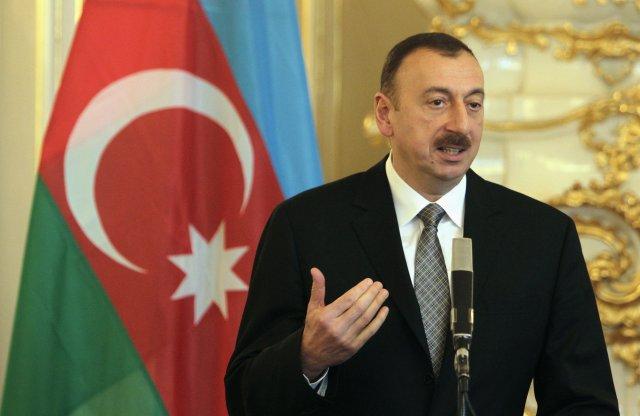 Ilham Aliyev forseti Aserbaídsjan.