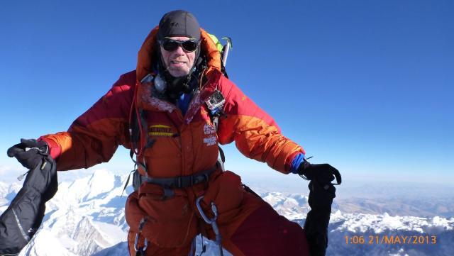 Ingólfur segir Everest-gönguna það erfiðasta sem hann hefur gert í ...