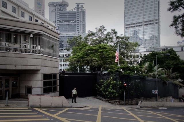 Sendiráð Bandaríkjanna í Hong Kong.