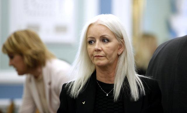Valgerður Gunnarsdóttir, þingmaður Sjálfstæðisflokksins.