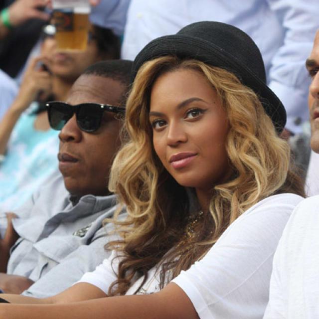Beyoncé og Jay-Z.