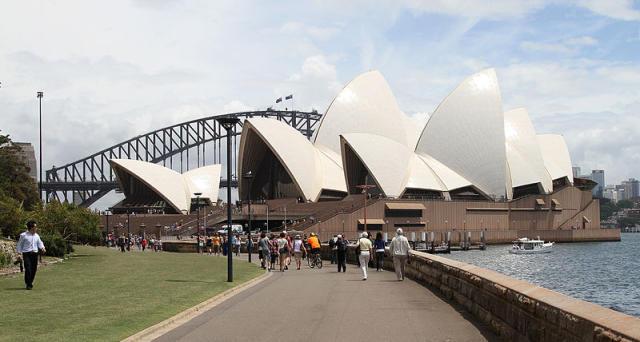 Frá Sydney í Ástralíu.