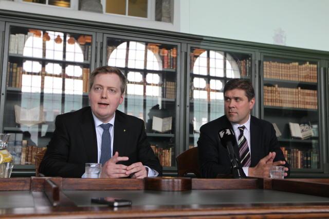 Samkvæmt stefnuyfirlýsingu ríkisstjórnarinnar er stefnt á að hér sé þjóðfélag ...