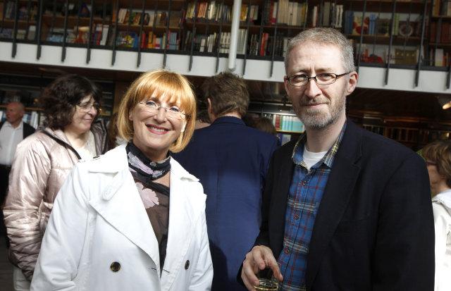 Ólöf Árnadóttir og Einar Falur Ingólfsson.