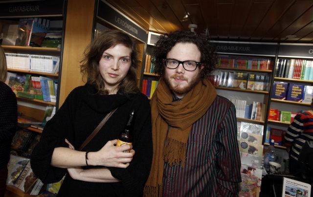 Anna Gulla Eggertsdóttir og Harper.