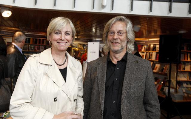Kristín Ólafsdóttir og Örn Svavarsson.