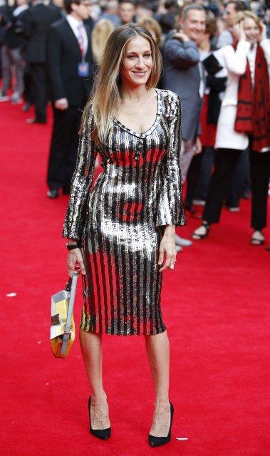 Sarah Jessica Parker fór með hlutverk hinnar skó-óðu Carrie Bradshaw.