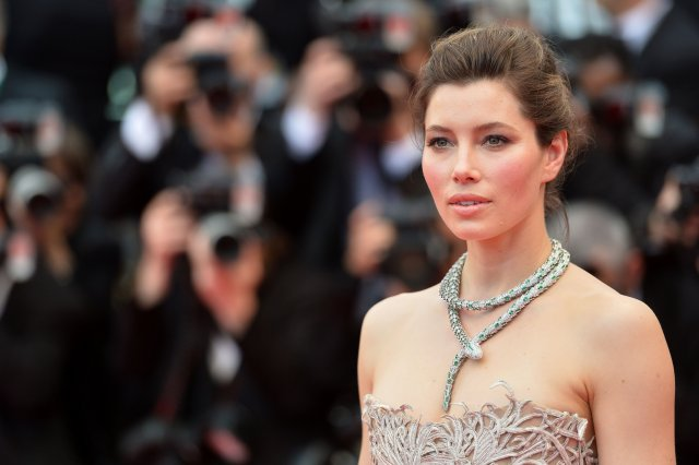 Förðunarfræðinguinn Lisa Eldridge farðaði Jessicu Biel fyrir Cannes