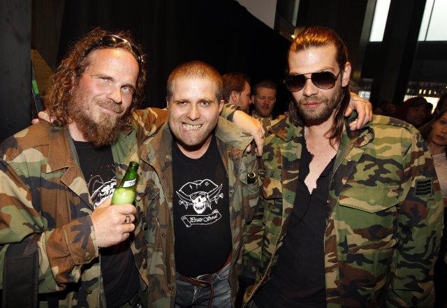 Jón Örn Bergsson, Björn Guðmundsson og Alexander Kirchner.
