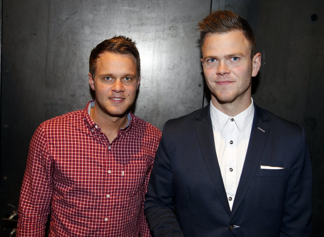 Einar Orri Kristjánsson og Heimir Þór Morthens