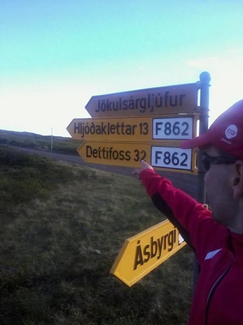 René lagði af stað 18. júní og komst á leiðarenda …