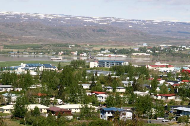Egilsstaðir. Rafmagnslaust er frá Kirkjubæjarklaustri að Vopnafirði.