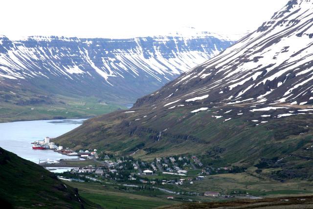 Frá Seyðisfirði.