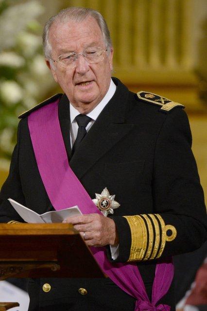 Albert II, fyrrverandi konungur Belgíu.