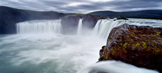 The sunken ship shares a name with the Goðafoss waterfall …