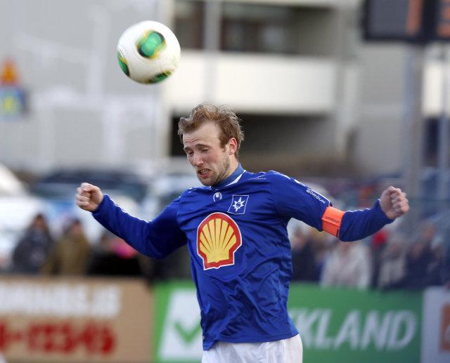 Daníel Laxdal í leik með Stjörnunni.