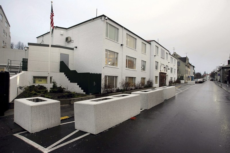 The US Embassy in Iceland.
