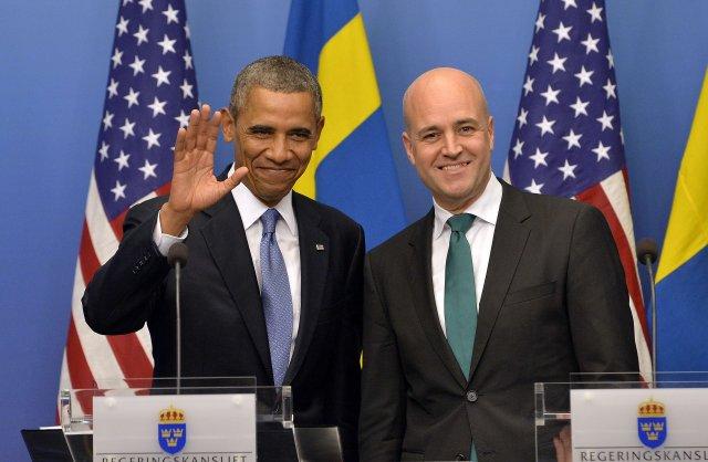 Barack Obama ræddi um málefni samkynhneigðra í Rússlandi í dag ...