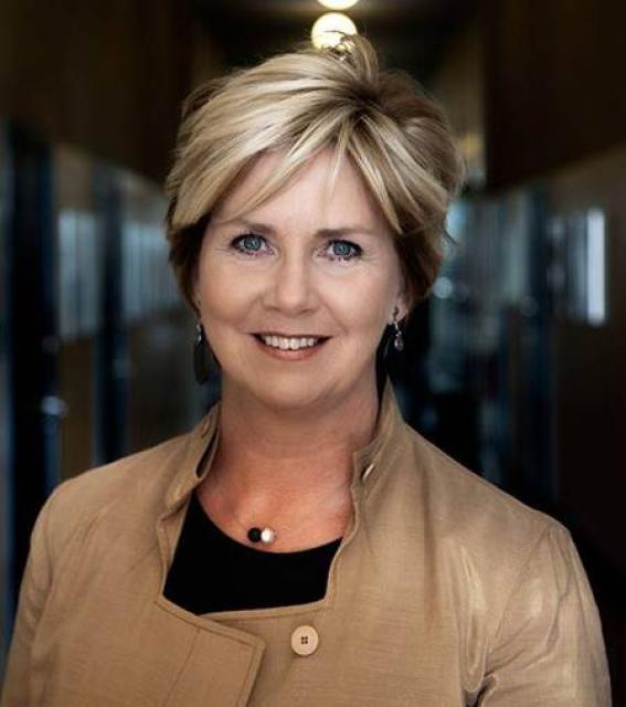 Kristín Ingólfsdóttir, rektor Háskóla Íslands